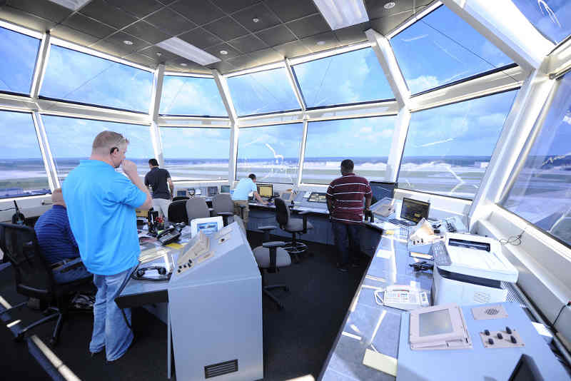 air traffic tower controller