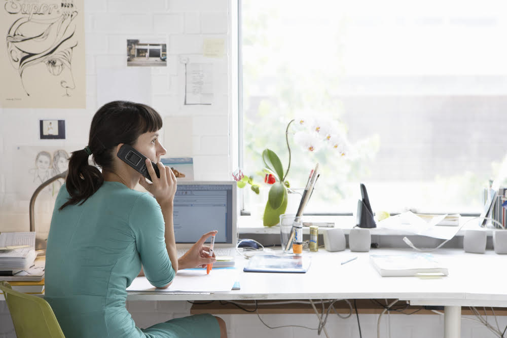 telephone interview call