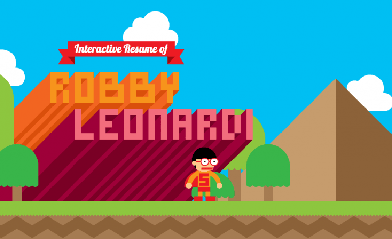 video game resume robby leonardi