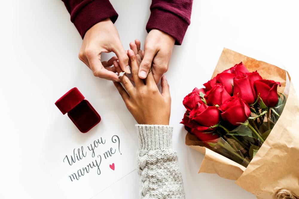 engagement ring romantic professions